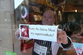 butcher has no horse