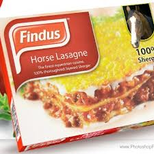 Findus horse lasagne